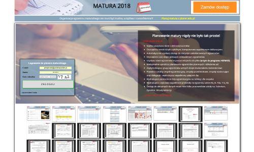 Aplikacja web do planowania matury